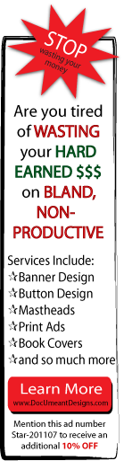 DocUmeant Designs banner ad